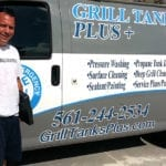 Paul and Grill Tanks Plus van