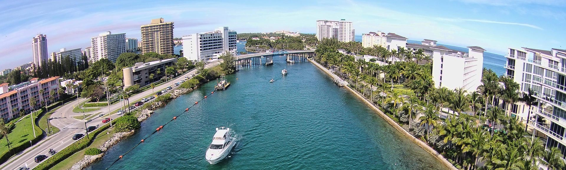 Boca Raton Water way