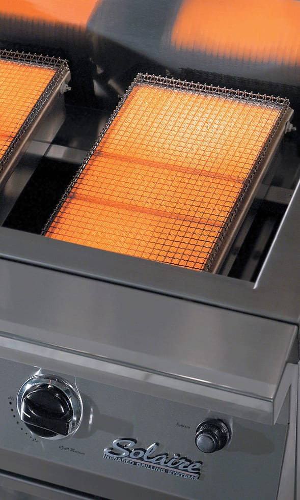 Solaire BBQ Grill image of Solaire Infrared system