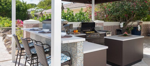 Image of a Rizzo Outdoor Kitchen