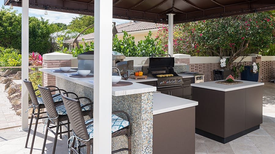 Rizzo Outdoor Kitchen Design