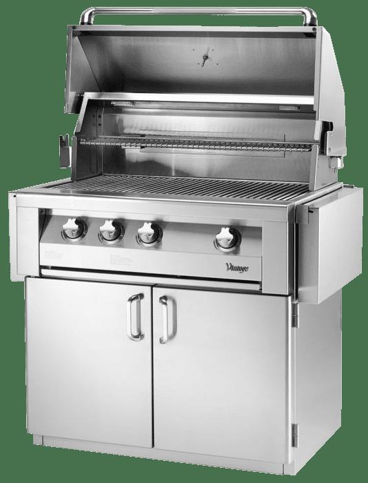 Vintage 3-Burner+Built-In+Convertible+Gas+Grill