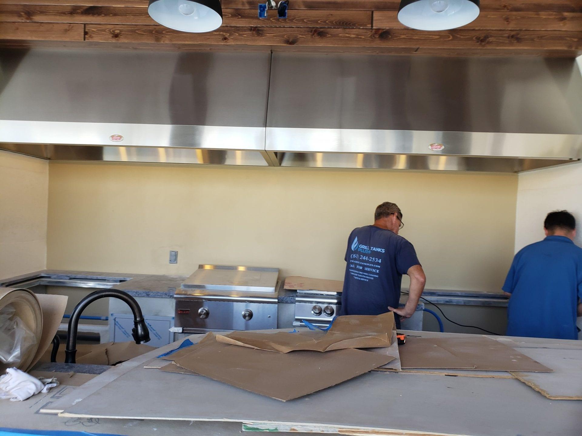Outdoor Kitchens Jupiter Fl Grill Tanks Plus