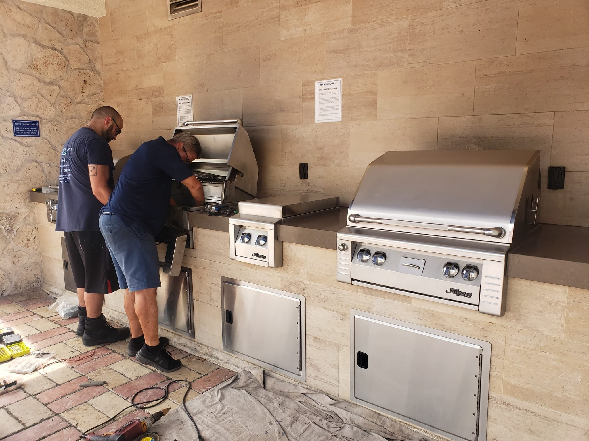 BBQ GRILL REPAIR BY GRILL TANKS PLUS