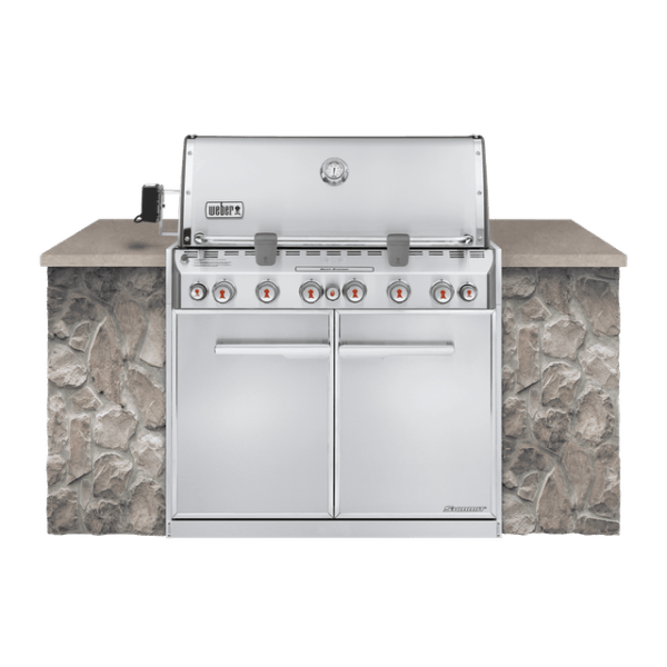 Weber Summit® S-660 Built-In Gas Grill (Natural Gas)