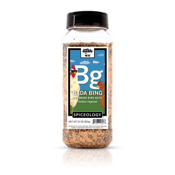 Spiceology - The Grill Dads - Bada Bing Dry Brine - 4.1 OZ brought to you by Palm Beach Grill Center