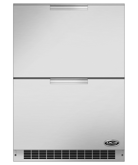 DCS 24 Double Refrigerator Drawers