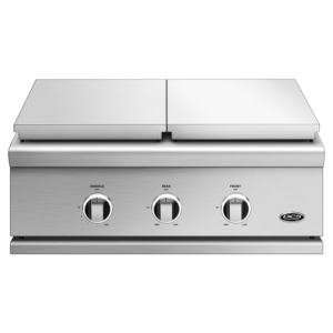 30 Series 9 Double Side Burner Griddle From DCS