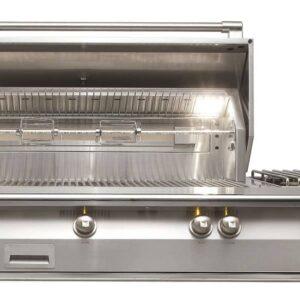 Alfresco 56 Built-In Grill 3 Burner Side Burner Rotis