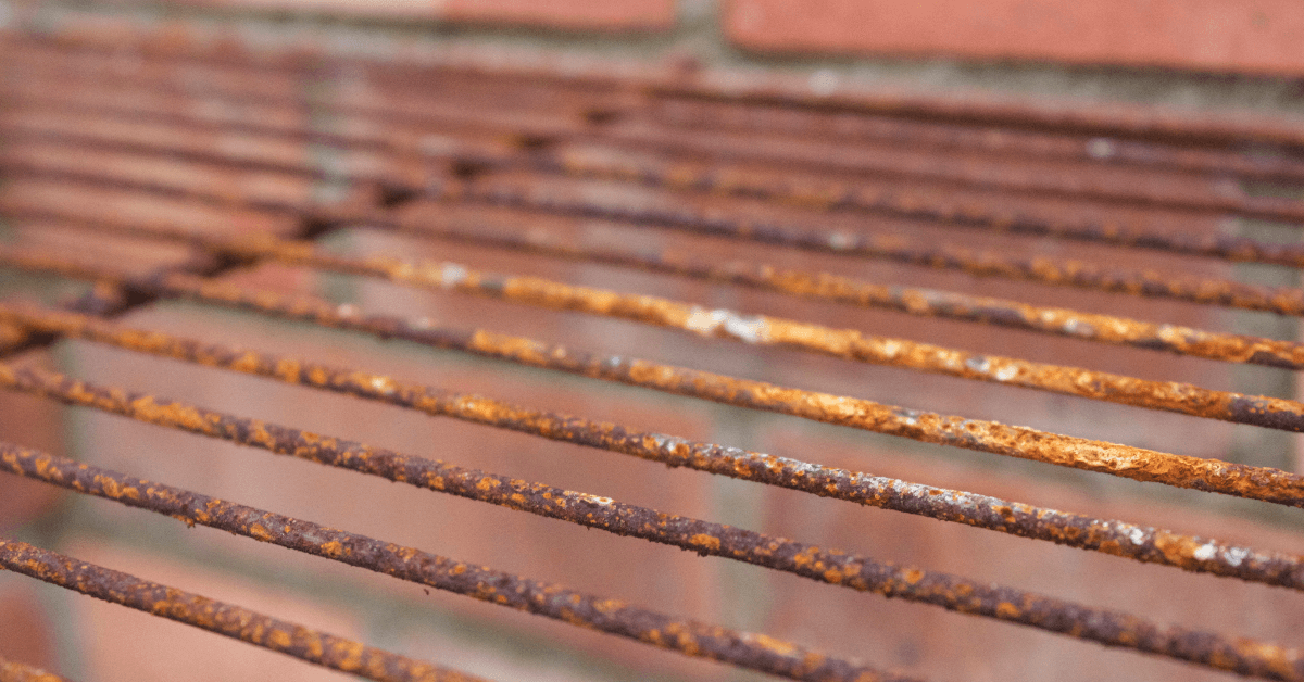 Rusting grill in Palm Beach County