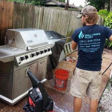bbq grill cleaning